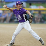 Keystone's Nathan Archer pitches during the Class GG state championship game Sunday in Alliance. RAY RIEDEL/CHRONICLE