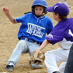 Midview Ross Richey scores before tag by Keystone Bryan Waite in second in.  Jul 7.   Steve Manheim