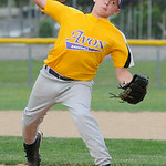 Avon's Mason Bingham pitches against Cuyahoga Falls. KRISTIN BAUER | CHRONICLE