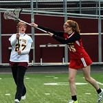 Avon Lake's Rachel Drapcho passes away from Brecksville's Kalle Kotchman. STEVE MANHEIM/CHRONICLE