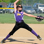 Avon's Taylor Graham pitches against Elyria. KRISTIN BAUER | CHRONICLE