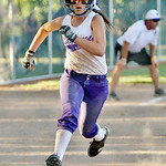 LaGrange's Brooke Piazza runs toward home. AMANDA K. RUNDLE/CHRONICLE