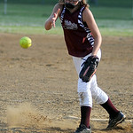 Wellington's Payton Regal pitches against Buckeye. KRISTIN BAUER | CHRONICLE