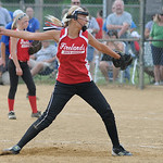 Firelands' Rylee Phillips pitches against Grafton.  KRISTIN BAUER | CHRONICLE