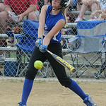 Grafton's Ricki Sanderson bats against Firelands.  KRISTIN BAUER | CHRONICLE