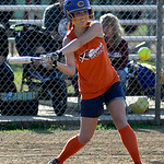 Lorain's Casey Jasinski bats against Wellington.   KRISTIN BAUER | CHRONICLE