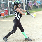 Columbia's #23 Averey Lavinder gets a hit. (CT photo by Linda Murphy.)