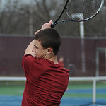 Avon Lake's Oliver Wilhelm plays first doubles.