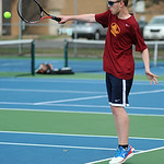 Avon Lake's Matt Sladek plays first doubles.