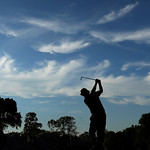 Phil Mickelson tees off on the 17th hole during the fourth round of the U.S. Open golf tournament at Merion Golf Club, Sunday, June 16, 2013, in Ardmore, Pa. (AP Photo/Charlie Riedel)