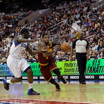 Cleveland Cavaliers' Kyrie Irving (2) is shown during an NBA basketball game against the Philadelphia 76ers, Sunday, April 14, 2013, in Philadelphia. The 76ers won 91-77. (AP Photo/Michael P …