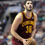 Cleveland Cavaliers' Omri Casspi (36), of Israel, is shown during an NBA basketball game against the Philadelphia 76ers, Sunday, April 14, 2013, in Philadelphia. The 76ers won 91-77. (AP Pho …
