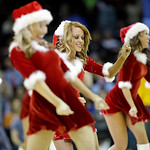The Cavalier Girls perform during an NBA basketball game between the Toronto Raptors and Cleveland Cavaliers Tuesday, Dec. 18, 2012, in Cleveland. (AP Photo/Mark Duncan)