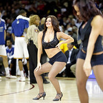 The Cavalier Girls perform during an NBA basketball game between the the Golden State Warriors and Cleveland Cavaliers Tuesday, Jan. 29, 2013, in Cleveland. (AP Photo/Mark Duncan)