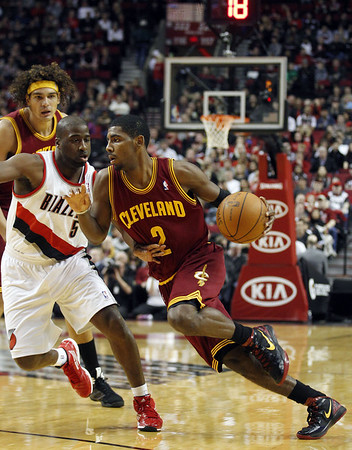 CavaliersTrailBlazersBasketbal M Kyrie Irving   Rookie of the Year? 