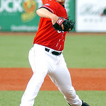Crushers starting pitcher #31 Dave Middendorf. (CT photo by Linda Murphy.)