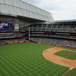 The Houston Astros play the Cleveland Indians in a baseball game Sunday, April 21, 2013, at Minute Maid Park in Houston. (AP Photo/Pat Sullivan)