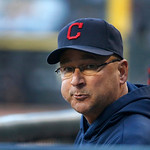 Cleveland Indians manager Terry Francona looks over U.S. Cellular Field on his 54th birthday before a baseball game against the Chicago White Sox Monday, April 22, 2013, in Chicago. (AP Phot …