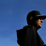 Chicago White Sox manager Robin Ventura looks out over the field before a baseball game against the Cleveland Indians Monday, April 22, 2013, in Chicago. (AP Photo/Charles Rex Arbogast)