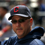 Cleveland Indians manager Terry Francona during a baseball game against the Chicago White Sox Wednesday, April 24, 2013, in Chicago. (AP Photo/Charles Rex Arbogast)
