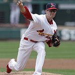 St. Louis Cardinals starter Joe Kelly makes his major league debut as he pitches in the first inning of a baseball game against the Cleveland Indians, Sunday, June 10, 2012 in St. Louis.(AP  …