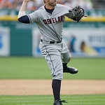 Cleveland Indians third baseman Mark Reynolds prepares to throw to first during the seventh inning of a baseball game against the Detroit Tigers in Detroit, Sunday, June 9, 2013. (AP Photo/C …