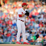 Philadelphia Phillies' Jonathan Pettibone pitches during an interleague baseball game against the Cleveland Indians, Tuesday, May 14, 2013, in Philadelphia. (AP Photo/Matt Slocum)