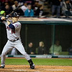 Minnesota Twins&#039; Josh Willingham bats against the Cleveland Indians in a baseball game Tuesday, Sept. 18, 2012, in Cleveland. (AP Photo/Mark Duncan)