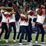 New England Patriots cheerleaders perform during the second half of the NFL football AFC Championship football game against the Baltimore Ravens  in Foxborough, Mass., Sunday, Jan. 20, 2013. &#8230;