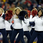 New England Patriots cheerleaders perform during the second half of the NFL football AFC Championship football game against the Baltimore Ravens  in Foxborough, Mass., Sunday, Jan. 20, 2013. …