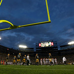 Lambeau Field is seen during the first half of a preseason NFL football game between the Green Bay Packers and the Cleveland Browns Thursday, Aug. 16, 2012, in Green Bay, Wis. (AP Photo/Mike …