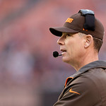 Cleveland Browns head coach Pat Shurmur watches during an NFL football game against the Washington Redskins Sunday, Dec. 16, 2012, in Cleveland. (AP Photo/Tony Dejak)