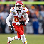 Kansas City Chiefs wide receiver Jamar Newsome runs after a catch in the fourth quarter of a 30-7 loss to the Cleveland Browns in an NFL football game in Cleveland, Sunday, Dec. 9, 2012. (AP …
