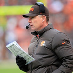 Cleveland Browns head coach Pat Shurmur watches during an NFL football game against the Kansas City Chiefs Sunday, Dec. 9, 2012, in Cleveland. (AP Photo/Tony Dejak)