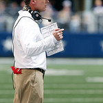 Cleveland Browns head coach Pat Shurmur calls out instructions to his players during the first half of an NFL football game against the Dallas Cowboys Sunday, Nov. 18, 2012 in Arlington, Tex &#8230;