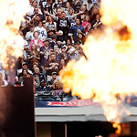 NFL fans cheer during player introductions before the start of the first half of an NFL football game between the Dallas Cowboys and Cleveland Browns Sunday, Nov. 18, 2012 in Arlington, Texa …