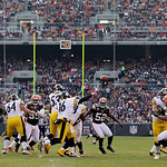 Pittsburgh Steelers quarterback Charlie Batch (16) passes against the Cleveland Browns in an NFL football game Sunday, Nov. 25, 2012, in Cleveland. (AP Photo/Mark Duncan)