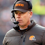 Cleveland Browns head coach Pat Shurmur watches during an NFL football game against the Pittsburgh Steelers Sunday, Nov. 25, 2012, in Cleveland. (AP Photo/Tony Dejak)