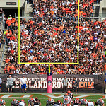 The Cleveland Browns play the Cincinnati Bengals during an NFL football game Sunday, Oct. 14, 2012, in Cleveland. (AP Photo/Tony Dejak)