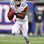 Cleveland Browns wide receiver Jordan Norwood runs with the ball during the second half of an NFL football game Sunday, Oct. 7, 2012, in East Rutherford, N.J. The Giants won the game 41-27. …