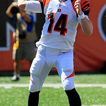Cincinnati Bengals quarterback Andy Dalton passes against the Cleveland Browns in an NFL football game, Sunday, Sept. 16, 2012, in Cincinnati. (AP Photo/Al Behrman)