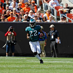 Philadelphia Eagles cornerback Brandon Boykin (22) runs the ball against the Cleveland Browns during an NFL football game Sunday, Sept. 9, 2012, in Cleveland. (AP Photo/Ron Schwane)