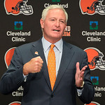This Aug. 3, 2012 file photo shows Jimmy Haslam III during a news conference in Berea, Ohio. The sale of the Cleveland Browns to Haslam III was unanimously approved by NFL owners Tuesday, Oc …