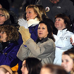 Avon fans cheer from the stands at a pep rally the night before the Eagles' first-ever state title game at Avon Stadium Dec. 1.    Steve Manheim