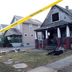A fire destroyed at home at 1045 W. 19th St. in Lorain Mar. 23.  Steve Manheim