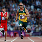 FILE  – In this Wednesday, Sept. 5, 2012 file photo, South Africa's Oscar Pistorius competes during Men's 100m T44 round 1 at the 2012 Paralympics in London. Olympic sprinter Oscar Pistorius …
