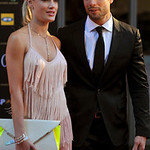 In this Nov. 4,  2012 photo, South African Olympic athlete Oscar Pistorius and Reeva Steenkamp, believed to be his girlfriend, at an awards ceremony, in Johannesburg, South Africa.  Olympic  …