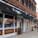 Pres. Obama visited Ziggy's in Amherst on July 5.  Steve Manheim