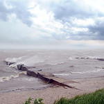 High winds hit shore at Folger House in Avon Lake on July 10.  Steve Manheim
