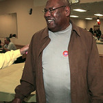 "3NOV09  Ward [xx} councilman Forrest Bullocks, congratulated by a well-wisher, said, ""The [my] victory was sweet, but the results of issue 10 are devastating to me.""  ""The people have spoken …"